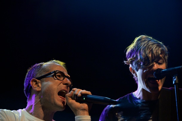 The Rentals: Matt Sharp & Keith Murray Photo by Rebecca Seelig https://www.facebook.com/KustomColorsPhotography